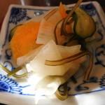 釜利谷ふれあいカフェ - 野菜の甘酢