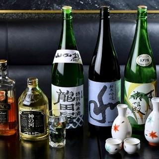 愛知の地酒を豊富にラインアップ◎お好みのものをお探しください