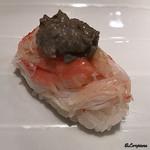 福寿司 - 料理写真:蟹 蟹味噌のせ