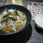 留園 - 台湾ラーメンとライス