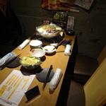 鶏屋 ぜんろく - 本日は、¥3,500(税抜)飲み放題付コース。◆ コースは全8品