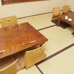 すしお料理処まつやま - テーブル_4名席4