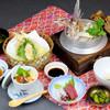 ジョイフル銀鈴 - 料理写真:デラックス鯛釜めし膳