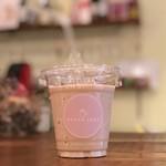 ROUGH LABO CAFE - 白ゴマの美人スムージー♪見た目も可愛い♪一度飲んだら病みつきに!!