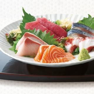 【当日オススメにて♪】新鮮魚介のお刺身盛り合わせ