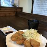 磯っぺ里 - 室津産牡蠣のカキフライ(2019.2.7)
