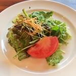 セラフィーナ ニューヨーク - ランチのサラダ