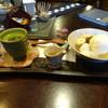 茶房 てまり - 料理写真:白玉クリームあんみつ