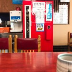そば処 秋月 - 懐かしのコカコーラ冷蔵庫