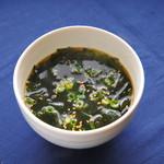焼肉竹林  EXPRESS - わかめスープ290円