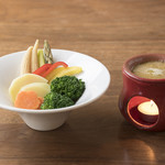 Fresco Caffe - 温野菜のバーニャカウダ
