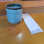 すえひろ家 - お茶とおしぼり