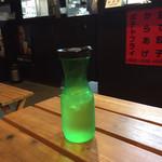 屋台ラーメン ベーヤン - レモン水
