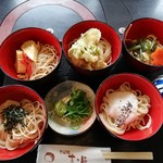 京そば処 志乃崎 - わんこ蕎麦、五段980円