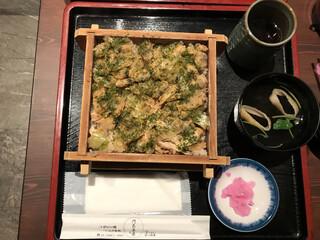 門前茶屋 - 深川めし  1,000円