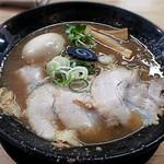 ぶたのほし - 【さかなとんこつ煮玉子ラーメン】¥900