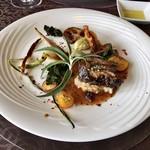 悦  - メイン:牛バラ肉の赤ワイン煮込み