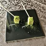 悦  - 小菓子:抹茶のフィナンシェ