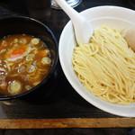 大勝軒まるいち - つけ麺…780円、煮玉子…100円