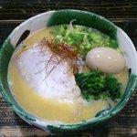 らーめんぼんくら - 味玉わっぱ (味噌)