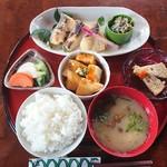 和風レストラン 麻希 - 鱈の西京漬定食