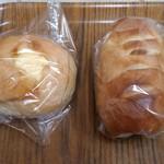 やおきパン - 料理写真:『ウインナーコーン』と『アップルパン』
