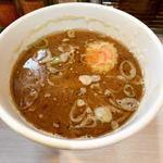 煮干しらーめん 玉五郎  阪急三番街店 - 濃厚魚介スープ。