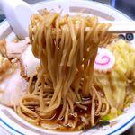 中華そば みたか - 麺 2019.2.1