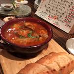 ワイン食堂 イタダキヤ - 豚肩ロースのトマト煮