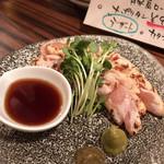 ワイン食堂 イタダキヤ - 朝引き鶏  とりわさ