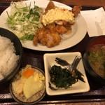 Kamiyaryuuhakatadoujou - 鶏南蛮定食