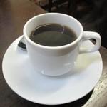 インドカレー ナマステ - Bランチ 850円(税込)に付く ホットコーヒー。      2019.02.03