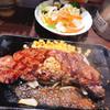 いきなりステーキ - 料理写真:国産サーロイン 227gオススメのレアでも硬かった