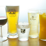 人情酒場 初雪 - ビール・ハイボール・ワイン・焼酎・ソフトドリンク等ドリンク各種揃えています!
