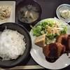 福籠 - 料理写真:本日の日替り定食(手作りコロッケ)@600