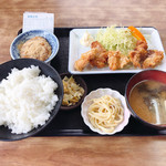 101516975 - 日替定食 500円                       (金曜日:から揚)