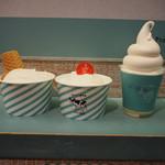 生クリーム専門店 Milk - 生クリームソフトクリーム、ふわとろシフォンケーキ、ミルキーソフトパフェ