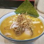 麺屋ななしぐれ - 「玉葱味噌らーめん」(800円)