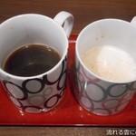 牛味 - ブレンド&カプチーノ