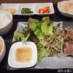 牛味 - サムギョプサル定食