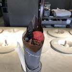 101523608 - ベリーのチョコクレープ