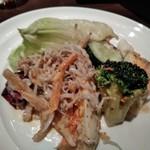 スコール - [料理] じゃことゴロゴロ野菜の冬サラダ ②