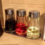 百年本舗 - 醤油、ラー油、酢