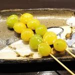 焼き鳥カフェ 鶏小屋 - 銀杏。