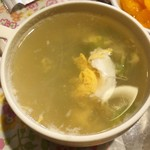 ナパッサナン - ランチセットのスープ