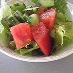 リゾートレストラン 花暦 - サラダバーから高原野菜をいっぱいいただきました。