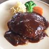 マンガ館ヴィラ  - 料理写真:「短角牛ハンバーグ」