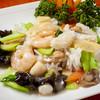 中国家庭料理 鳳美酒家 - 料理写真:ホタテ・海老・イカのXOソース炒め