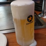 厳島 - 見た目100点な生ビールです(´- `*)