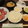焼肉せんりゅう - 料理写真:タン、ハツ定食¥680+税